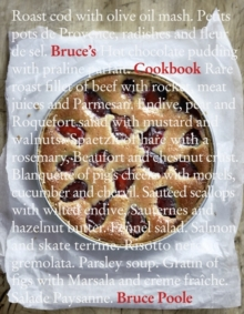 Bruce's Cookbook, Hardback Book