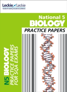 National 5 Biology Practice Exam Papers, Paperback Book