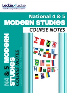 National 4/5 Modern Studies Course Notes, Paperback Book