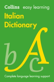 Easy Learning Italian Dictionary, Paperback Book