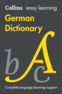 Easy Learning German Dictionary, Paperback Book