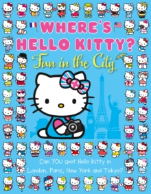 Where's Hello Kitty: Fun in the City, Paperback Book