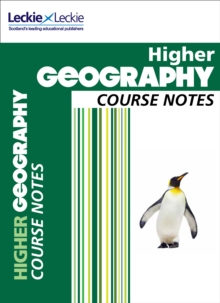 CfE Higher Geography Course Notes, Paperback Book