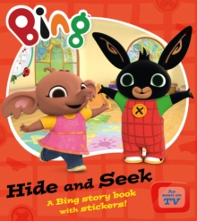 Bing Hide and Seek, Paperback Book