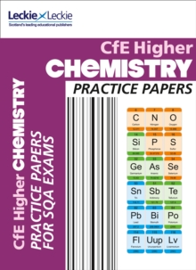 CfE Higher Chemistry Practice Papers for SQA Exams, Paperback Book