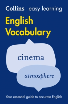 Easy Learning English Vocabulary, Paperback Book