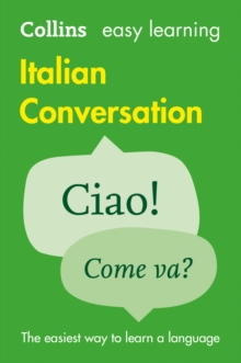 Easy Learning Italian Conversation, Paperback Book