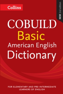 Collins COBUILD Basic American English Dictionary, Paperback Book