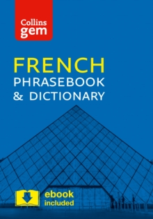Collins French Phrasebook and Dictionary Gem Edition : Essential Phrases and Words in a Mini, Travel-Sized Format, Paperback Book