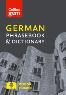 Collins German Phrasebook and Dictionary Gem Edition