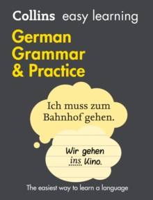 Easy Learning German Grammar and Practice, Paperback Book