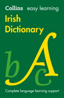 Easy Learning Irish Dictionary, Paperback Book