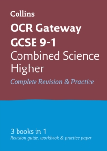 OCR Gateway GCSE Combined Science Higher All-in-One Revision and Practice, Paperback Book