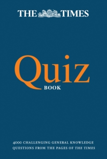 The Times Quiz Book, Paperback Book