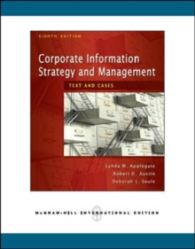 Corporate Information Strategy and Management : Text and Cases, Paperback Book