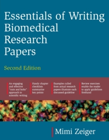 Essentials of Writing Biomedical Research Papers, Paperback Book