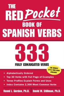 The Red Pocket Book of Spanish Verbs : 333 Fully Conjugated Verbs, Paperback Book