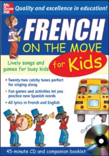 French on the Move for Kids, Mixed media product Book