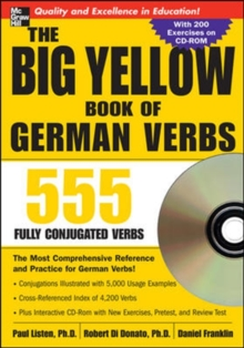 The Big Yellow Book of German Verbs : 555 Fully Conjugated Verbs, Mixed media product Book