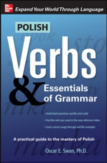 Polish Verbs and Essentials of Grammar, Paperback Book