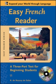 Easy French Reader : A Three-Part Text for Beginning Students, Mixed media product Book