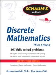 Schaum's Outline of Discrete Mathematics, Paperback Book