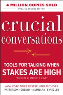 Crucial Conversations Tools For Talking When Stakes Are High 2/E (Paperback), Hardback Book