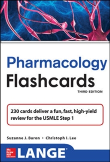 Lange Pharmacology Flash Cards, Cards Book