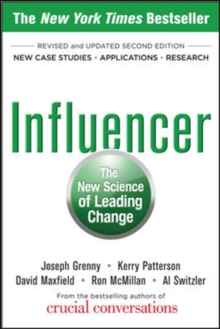 Influencer: The New Science of Leading Change, Paperback Book