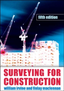 Surveying For Construction, Paperback Book