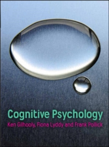 Cognitive Psychology, Paperback Book