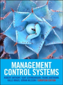 Management Control Systems, Paperback Book