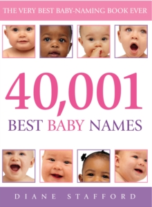 40,001 Best Baby Names, Paperback Book
