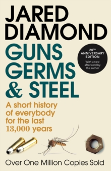 a review of the history book guns germs and steel by jared diamond Book review guns, germs, and steel: the fates of human societies  and steel: the fates of human societies by jared diamond  of eleven thousand years of history .