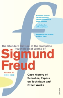 Complete Psychological Works of Sigmund Freud, The Vol 12, Paperback Book