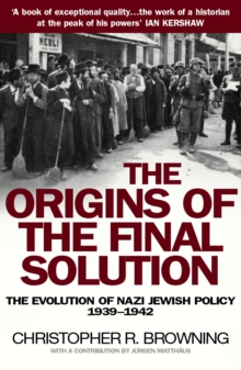 The Origins of the Final Solution, Paperback Book