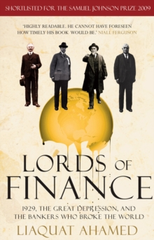 Lords of Finance1929, The Great Depression, and the Bankers who Broke the, Paperback Book