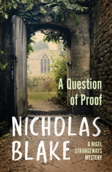 A Question of Proof, A, Paperback Book