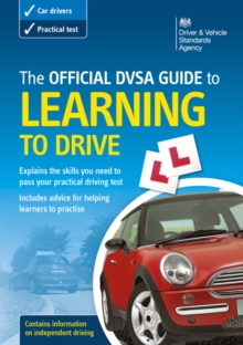The official DSA guide to learning to drive, Paperback Book
