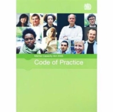 Mental Capacity Act 2005 Code of Practice, Paperback Book