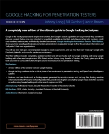 Google Hacking for Penetration Testers, Paperback Book