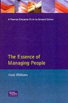 The Essence of Managing People, Paperback Book