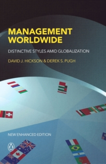 Management Worldwide : Distinctive Styles Among Globalization, Paperback Book