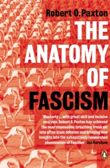 The Anatomy of Fascism, Paperback Book