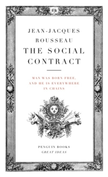 The Social Contract, Paperback Book