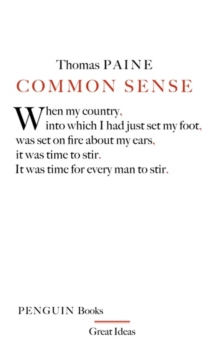 Common Sense, Paperback Book