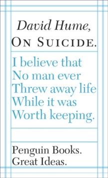 On Suicide, Paperback Book