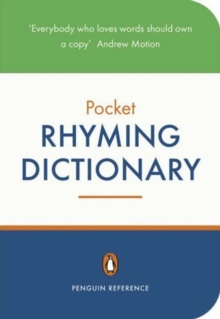 Penguin Pocket Rhyming Dictionary, Paperback Book