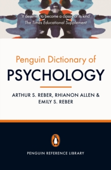The Penguin Dictionary of Psychology (4th Edition), Paperback Book