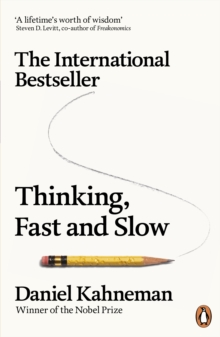 Thinking, Fast and Slow, Paperback Book